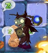 DarkWizard prepare to damage Pea-Nut