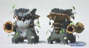 Mirim-lee-oak-dino model renders