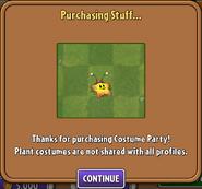 Purchasing Starfruit Costume