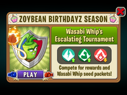 Wasabi Whip Escalating Tournament (2019)