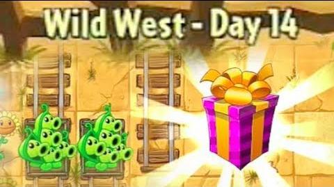 Wild West Day 14 - Plants vs Zombies 2