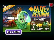 Epic Quest - Aloe Returns Ad