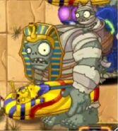 Gargantuar mummy in the Wild West
