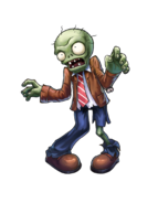 HD PvZO Basic Zombie