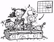 Clown zombies - ArtofReanimPvZ2