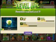 DandelionreachingLevel5
