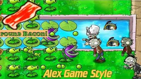 Plants vs. Zombies Adventure Found a Bacon level 3-4 Pool (Android Gameplay HD) Ep