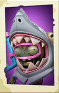 Shark Costume Zombie PvZ3 portrait