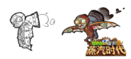 Leaper Zombie Early Design