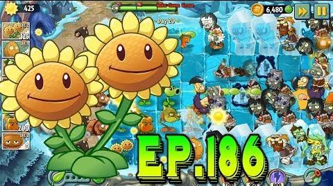 Plants vs. Zombies 2 Unlocked Icebound Battleground - Frostbite Caves Day 20 (Ep