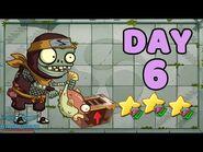 Plants vs Zombies 2 China - Heian Age Day 6《植物大战僵尸2》- 平安时代 6天