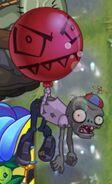 Hypnotized Balloon Zombie and Balloon (PvZ 2)