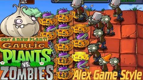Plants vs. Zombies Adventure Got a Garlic level 5-5 Roof (Android Gameplay HD) Ep