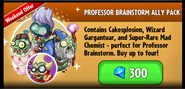 Professor Brainstorm Ally Pack