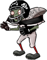 Giga football zombie png edition