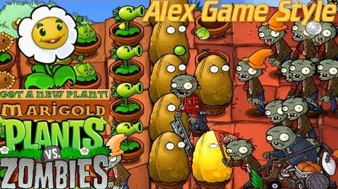 Plants vs. Zombies Adventure Got a Marigold level 5-7 Roof (Android Gameplay HD) Ep