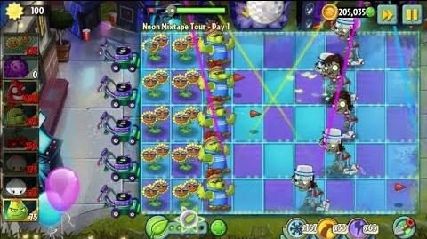 Plants vs Zombies 2 - Neon Mixtape Tour Day 1 (Beta)