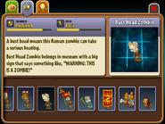 Bust Head Zombie Almanac Entry