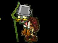 Adventurer Buckethead Zombie