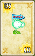 Electric Peashooter Endless Zone Card Level 6-9