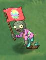 Shrunken Springening Flag Zombie