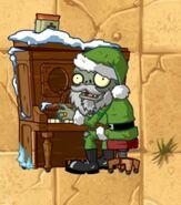 Pianist Santa