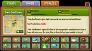 Twin Sunflower Almanac Entry