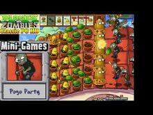 Plants vs. Zombies - Pogo Party Mini-Games - Classic PC HD (Ep