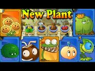 Plants vs. Zombies All Stars - New Plants - Plant improvement (Ep