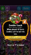 Zombie Coach Description