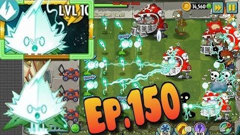 Plants vs. Zombies 2 - FILA-MINT! - Electric Plant - New Update Premium Plant Quest (Ep