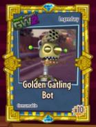 Pvzgw2 golden gatling bot sticker