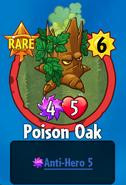 Receiving Poison Oak
