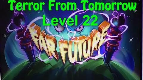 Terror From Tomorrow Level 22 Plants vs Zombies 2 Endless