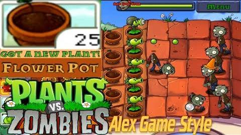 Plants vs. Zombies Adventure Got a Flower Pot level 5-1 Roof (Android Gameplay HD) Ep