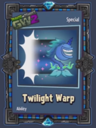 Twilight Warp Card