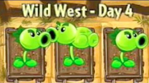 Wild West Day 4 - Plants vs Zombies 2