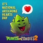 Dartichoke Hearts day