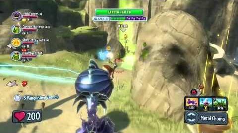 """PvZ Garden Warfare Zomboss Down """"Armor Chomper"""" DLC gameplay commentary"""