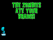 Frozen Buckethead eating brains