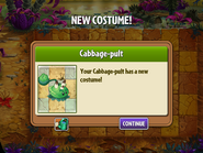 Getting Cabbage-pult Time Twister Costume