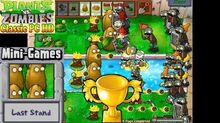 Plants vs. Zombies - Last Stand Mini-Games - Classic PC HD (Ep