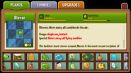 Blover Almanac Entry