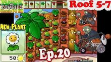 Plants vs. Zombies - New Plant Marigold - Roof 5-7 - Classic PC HD (Ep