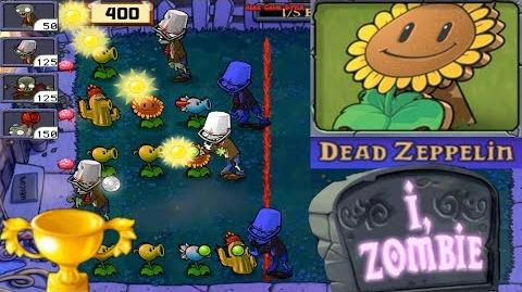Plants vs. Zombies - Puzzle I, Zombie Dead Zeppelin (Android Gameplay HD) Ep