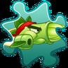 Asparagus Costume Puzzle Piece