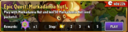 Epic Quest Murkadamia Nut! Travel Log