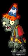 HD Conehead Monk Zombie