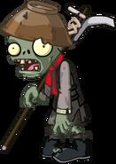 HD Terracota Conehead Zombie