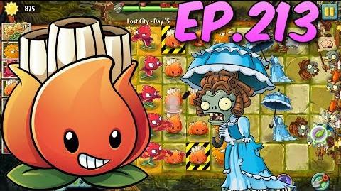 Plants vs. Zombies 2 Survive and protect plants - Lost City Day 15 (Ep